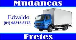 Título do anúncio: Edvaldo Mudanças - Recife/PE