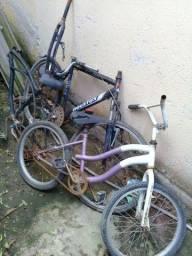 Título do anúncio: vendo peças de bike  leia a descrição.