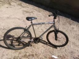 Título do anúncio: Bicicleta com suspensão e quadro de alumínio