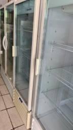 Título do anúncio: Refrigerador de uma e duas portas metalfrio