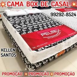 Título do anúncio: Cama Box Casal +2 Travesseiros de Brinde !!!