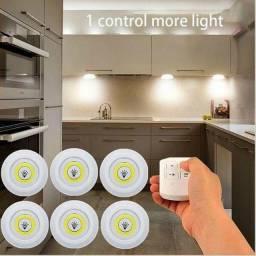 3 Lampadas Leds + controle (leia)
