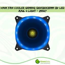 Título do anúncio: Cooler para Gabinete 120x120x25mm 12v Led Azul