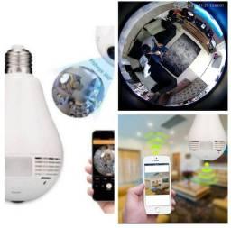 Título do anúncio: Câmera lâmpada espiã.tenhas as imagens direto no seu celular