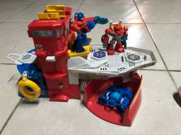 Imaginext Barco Transformers