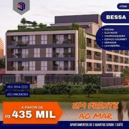 Apartamento para Venda em João Pessoa, Bessa, 2 dormitórios, 1 suíte, 1 banheiro, 1 vaga
