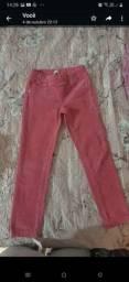 Título do anúncio: Calça veludo Rosa