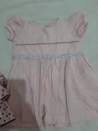 Título do anúncio: Vestido de bebê