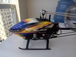 Helicoptero t-rex aling 450 profissional o melhor pra iniciantes
