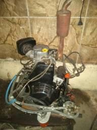 Motor a diesel estacionário