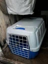 Caixa transporte cachorro porte medio