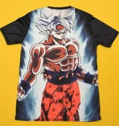 Camisas Animes ( Naruto e Dragon ball Z)
