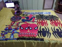 Pós festa do homem aranha