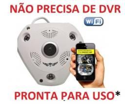 Camera 360° Panorâmica Segurança - Vr Cam 1.3mp