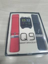 Relógio Smartwatch Q9 Ios Android iPhone Sansung Motorola Lg