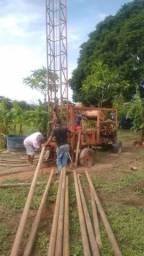 Máquina de perfuração de poço artesiano
