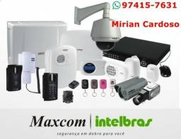 M.P 1. Portão Automático, CFTV, Alarme, Interfonia e PABX, Cerca, Intelbrás,