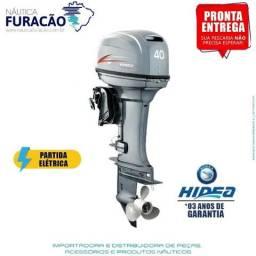 Motor de Popa Hidea 40 Ffes-t (Trim, partida e comando 2T)