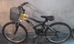 Bike Caloi aro 24, 21 marchas