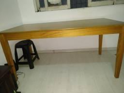 Mesa de madeira tok stok