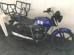 Moto Honda 125 pra fazer entregas - 2002