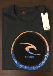 Camiseta Rip Curl Freelix Grafite