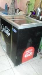 Vendo essa freezer metalfrio de sorvete gelando normal vlts 110
