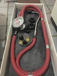 Estetoscópio + Esfigmomanômetro
