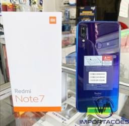 Redmi Note 7 64GB Versão Global lacrado com NF e garantia