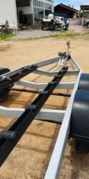 Reboque trucado 5.80 seminovo lancha até 19 pés - 2011
