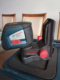 Nível Laser De Linhas Bosch Gll 2-50 Profissional + Maleta