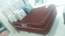 Beilusdimas camas casal molas encapsuladas com pillow top