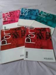 Livros Sistema Poliedro - 1º ano do ensino médio - Bem conservados