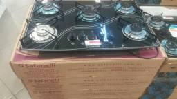 Cooktop Safanelli 5 Bocas R$ 419,00