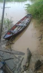 Canoa com motor rabeta aceito negociar - 2001