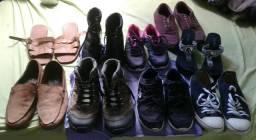 Lote de sapatos!