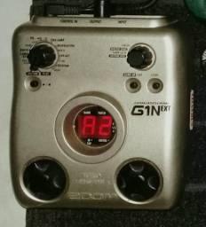 Pedaleira Zoom G1Next + Equalizador Danelectro