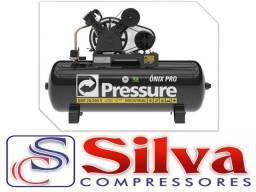 Compressor de ar 20 pés 200 litros 175 libras - Pressure