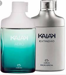 Mega liquidação perfume kaiak aero ou extremo natura 100ml