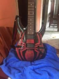 Guitarra Fênix homem aranha