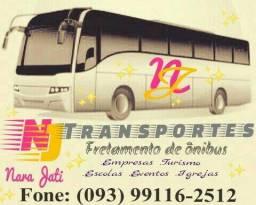 Fretamento de ônibus