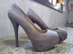 Sandália Salto Zara Basic