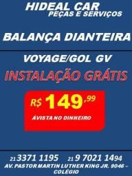 Balança do Voyage/Gol GV instaladas