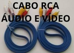 Cabo RCA Áudio VÍDEO (Entrega Domiciliar Grátis)