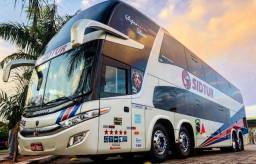 Ônibus Marcopolo DD 1800 G7 Scania k440 automático 4 eixos 56 lugares , ano 2015