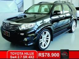 Toyota Hilux SW4 SR 4x2 2.7/ 2.7 Flex 16V Aut. 2012 Gasolina