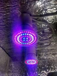 Lampada Full spectrum 80 leds ideal para crescimento