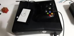X Box 360 desbloqueado + HD 1T c/ 30 jogos - FAÇA SUA OFERTA!!
