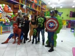 Os Vingadores Junior Lopes Personagem Vivo