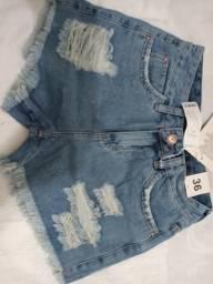 Short jeans de qualidade